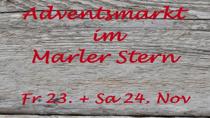 Adventsmarkt am 23. und 24. November 2018
